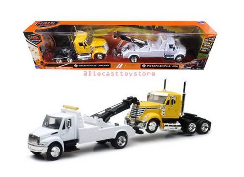 New Ray 1/43 International 4200 Tow-Truck with Lonestar Cab image