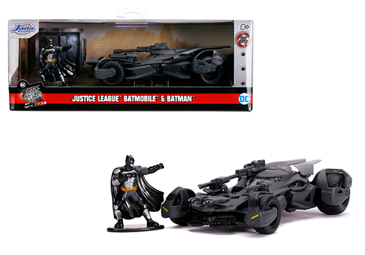 Jada 1/32 2017 JL Batmobile with Figurine image