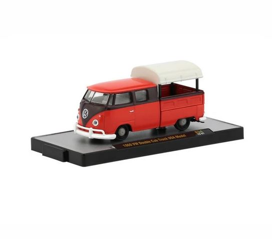 M2 Machines 1/64 1960 VW Double Cab Truck USA Model image