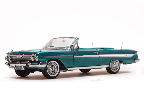 SunStar 1/18 1961 Chevrolet Impala Open Convertible image