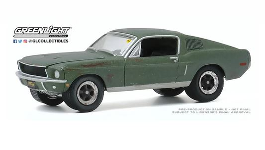 Greenlight 1/64 1968 Ford Mustang GT - Bullitt image