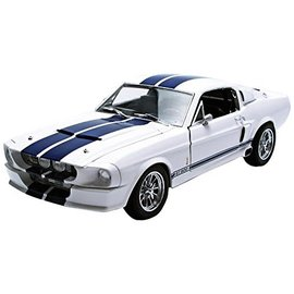 Shelby Collectables 1/18 2013 Shelby GT 500 Blue/White image