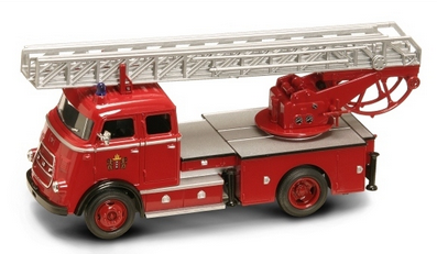 Road Signature 1/43 1962 DAF A 1600 Fire Engine Red image