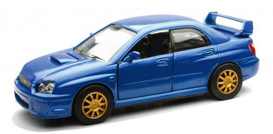 New Ray 1/32 Subaru WRX Blue image