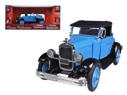 New Ray 1/32 1928 Chevy Roadster Blue/Black image