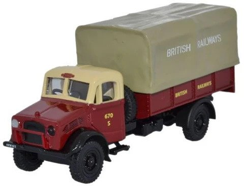 Oxford  1/76 Bedford OY 3 Ton GS British Rail image