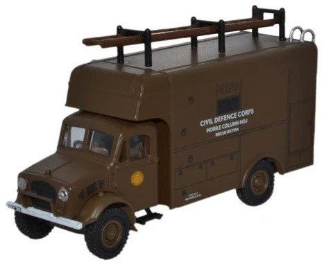 Oxford  1/76 Bedford OY Rescue Vehicle Civil Defence image