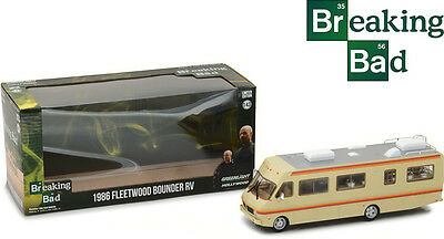 Greenlight Collectables 1/43 1986 Fleetwood Bounder RV Brown image