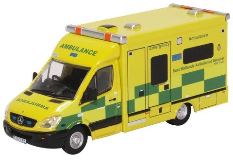 Oxford  1/76 Mercedes Ambulance West Midlands image