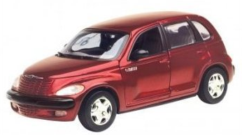 Motormax  1/24  Chrysler PT Cruiser Metallic Red  image