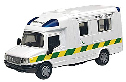 Motormax London Ambulance White  image