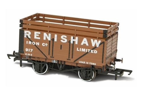 Oxford  1/76 Coke Wagon, 7 Plank, 2 Coke rails, Renshaw Iron Coy 917  image