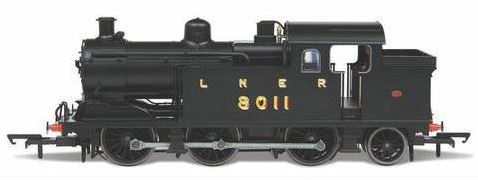 Oxford 1/76 N7 Loco - LNER N& 0-6-2 No.8011 image