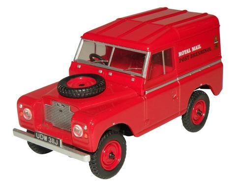Oxford  1/43 Land Rover Series IIA SWB Hard Top Royal Mail image