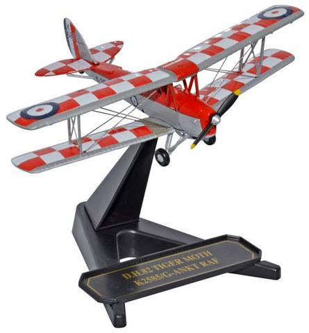 Oxford 1/72 De Havilland Tiger Moth - K2585 32 Sqn CFS  image