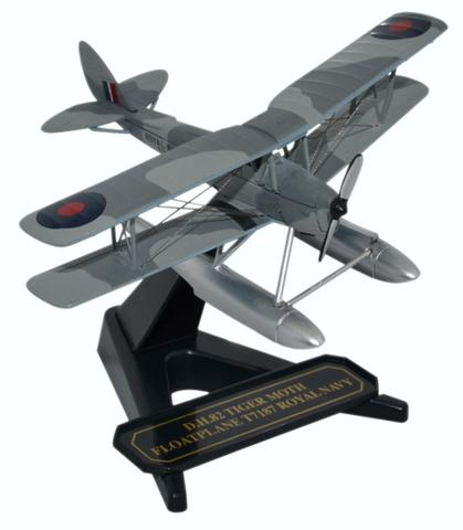 Oxford 1/72 De Havilland Tiger Moth - Royal Navy Float Plane  image