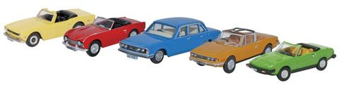 Oxford 1/76 Truimph Set - 5 Car Set  image
