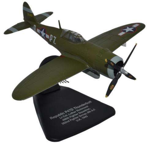 Oxford 1/72 Republic P47D Thunderbolt- USAAF Europe 1943  image