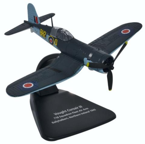 Oxford 1/72 Vought Corsair III 718 Sqn, Fleet Air Arm, Ballyhalbert, Northern Ireland 1945  image