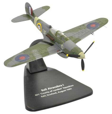 Oxford 1/72 Bell Airacobra I, 601 County of London Sqn, RAF Duxford, 1941  image