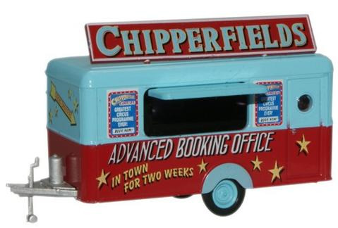Oxford  1/76 Chipperfield Trailer Booking Office  image