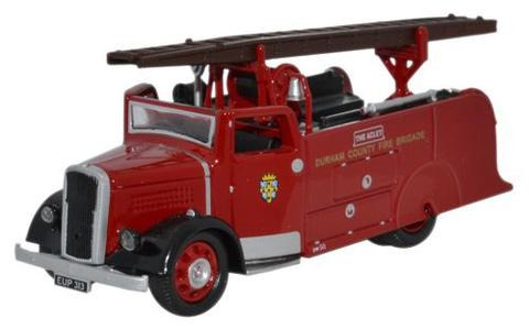 Oxford  1/76 Dennis Light Four Durham Country Fire Brigade image
