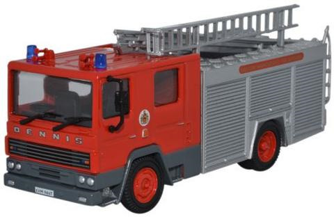 Oxford  1/76 Dennis RS Fire Appliance Greater Manchester Fire Brigade image