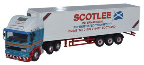 Oxford 1/76 ERF EC Olympic 40Ft Fridge Trailer - Scotlee  image