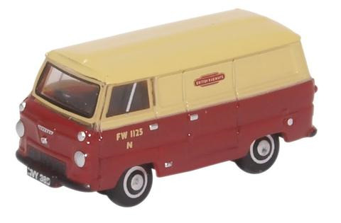 Oxford  1/76 Ford 400E Van - British Railways British Railways image