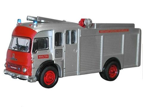 Oxford  1/76 Bedford TK Fire Engine  Northhamptonshire Fire Brigade image