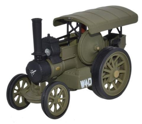 Oxford  1/76 Fowler B6 Road Locomotive WW1 France 1915 image