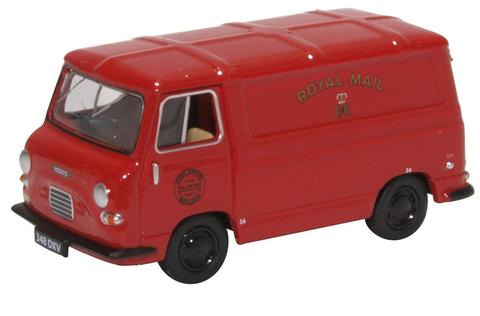 Oxford  1/76 Morris J4 Van Royal Mail image
