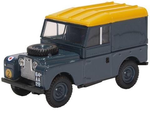 Oxford  1/76 Land Rover Series 1 88 inch Hard Top RAF image