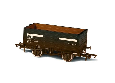 Oxford  1/76 Mineral Wagon, 7 Plank, NCB Internal User - Weathered  image