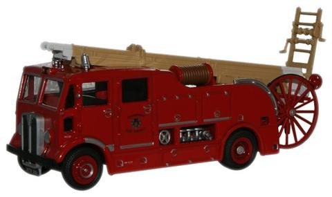 Oxford  1/76 AEC Regent III Fire Engine Glamorgan Fire Service image