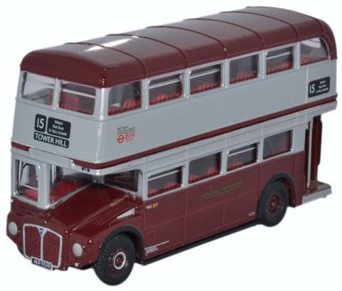 Oxford  1/76 Routemaster Bus Bow Centenary image