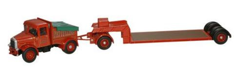Oxford  1/76 Scammell Highwayman Ballast & Low Loader  image