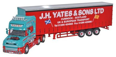 Oxford  1/76 Scania T Cab Topline Curtainside Yates image