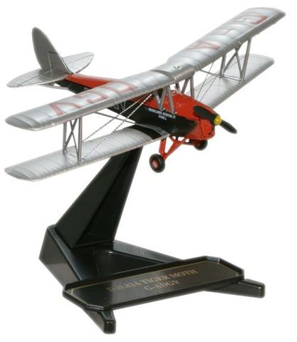Oxford  1/72 De Havilland Tiger Moth RAF [Brooklands Aviation Ltd. G-ADGV] image