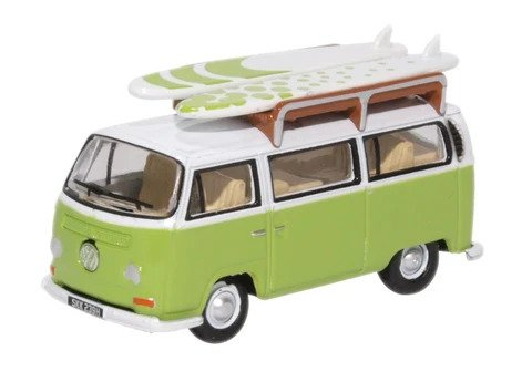 Oxford  1/76 Volkswagen Bay Window Bus Surfboards image