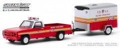 Greenlight 1/64 1986 Chevrolet M1008 CUCV FDNY image