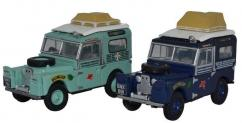 Oxford 1/76 Land Rover - First Overland Set image