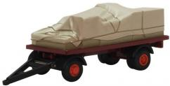 Oxford 1/76 Canvassed Trailer image