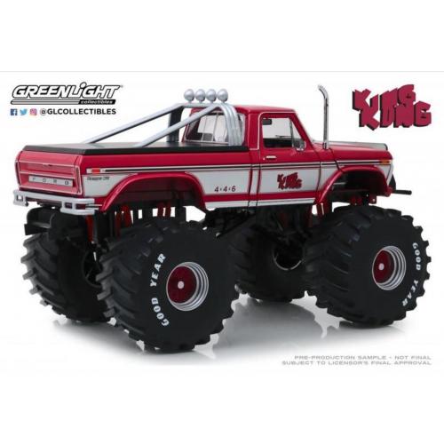 Greenlight 1 18 1975 Ford F 250 Monster Truck King Kong Diecastmodels