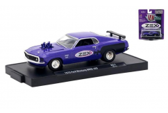 M2 Machines 1/64 1970 Ford Mustang BOSS 429 Purple image
