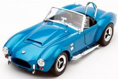 Shelby Collectables 1/18 1965 Shelby Cobra 427 S/C Super Snake Guardsman Blue image