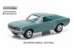 Greenlight 1/64 1968 Ford Mustang GT image