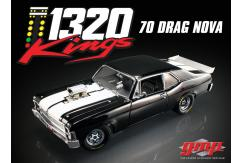 GMP 1/18 Chevrolet Nova 1320 Kings Drag Car image