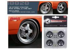 GMP 1/18 Street Fighter Mag Wheel & Tire Pack image