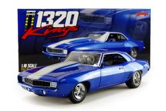 GMP 1/18 1969 Chevrolet Camaro 1320 Drag Kings image